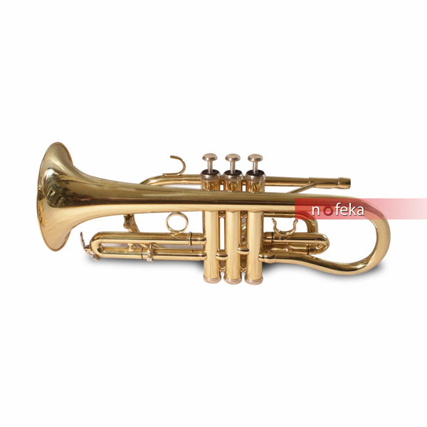 Nofeka Uganda Brass Instruments Suzuki Bb Flat Brass Finishing Cornet Trumpet