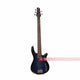 SY Audio Blue 5 String Solid-Body Electric Bass Guitar