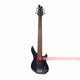 SY Audio Blue 6 String Solid-Body Electric Bass Guitar