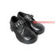 Synthetic Boy's Round Toe School Strap Shoes