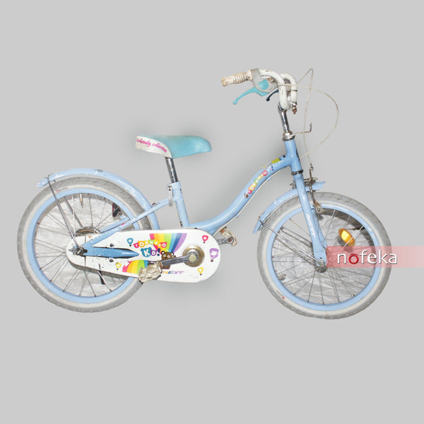 Nofeka Uganda Bicycles Tornado Blue Second Hand Bicycle for Kids | 12-inch Wheels