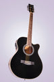 Yamaha F410 Acoustic Electric Guitar - Black