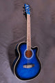 Yamaha F410 Acoustic Electric Guitar - Blue