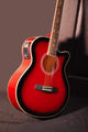 Yamaha F410 Acoustic Electric Guitar - Red