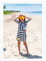 Load image into Gallery viewer, Lemonade color block dress