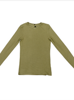 Load image into Gallery viewer, Riff Striped V-Neck Tee