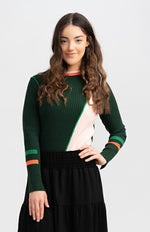 Load image into Gallery viewer, Emerald Green Sweater