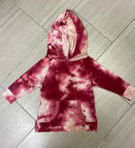 Load image into Gallery viewer, Tie Dye Hooded Set Top