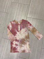 Load image into Gallery viewer, Tie Dye  Henley top