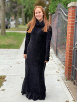 Load image into Gallery viewer, FLO Turtleneck Maxi Dress