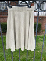 Load image into Gallery viewer, Pleated Knit Skirt