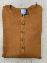 Load image into Gallery viewer, Knit Henley Sweater