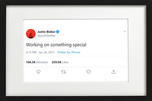 "Justin Bieber - ""Something Special"""
