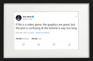 "Elon Musk - ""Life is a Video Game"""