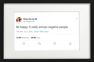 "Ricky Gervais - ""Be Happy"""