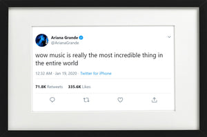 "Ariana Grande - ""Music is Incredible"""