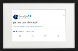 "Ariana Grande - ""Pls Take Care of Yourself"""