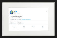 "Load image into Gallery viewer, Kanye West - ""I'm Your Oxygen"""