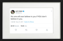 "Load image into Gallery viewer, Katy Perry - ""Believe In You"""