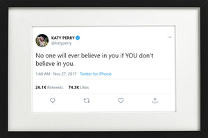 "Katy Perry - ""Believe In You"""