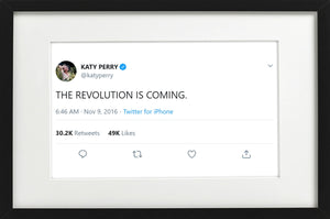 "Katy Perry - ""THE REVOLUTION IS COMING"""