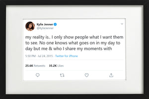 "Kylie Jenner - ""Show People Only What They Want"""