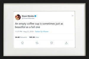 "Shawn Mendes - ""Empty Coffee Cup"""