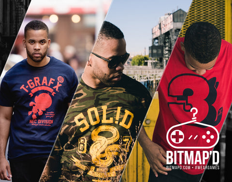 Bitmapd Video Game Apparel