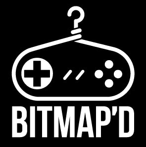 Bitmap'd Logo Video Game Clothes