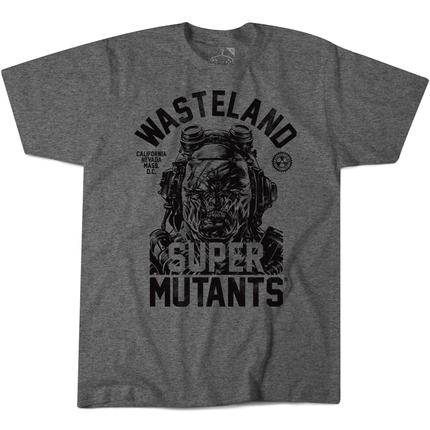 Fallout Super Mutant T-shirt grey