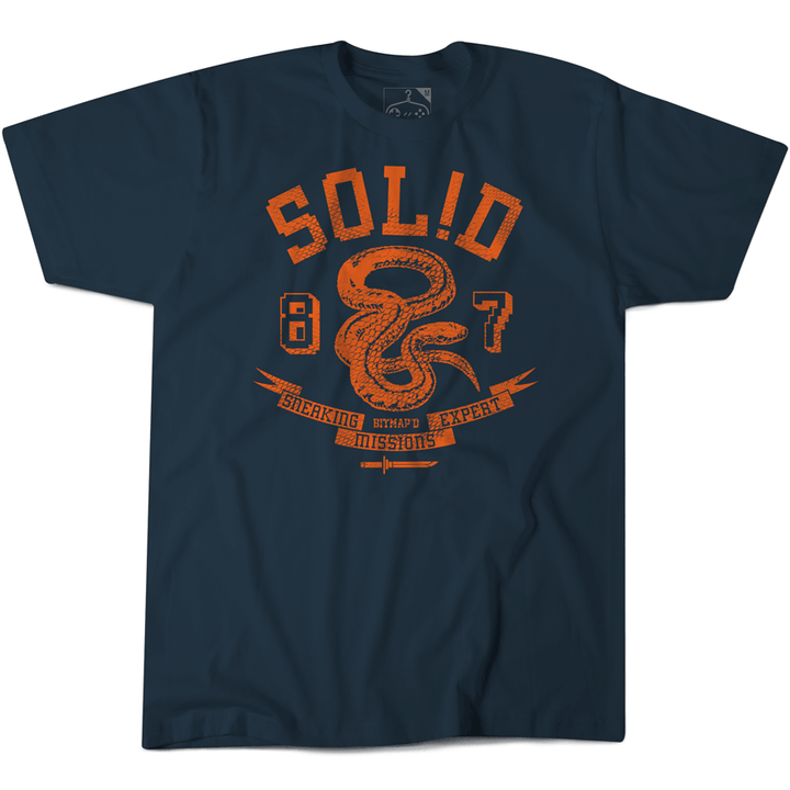 METAL GEAR SOLID SNAKE TSHIRT NAVY