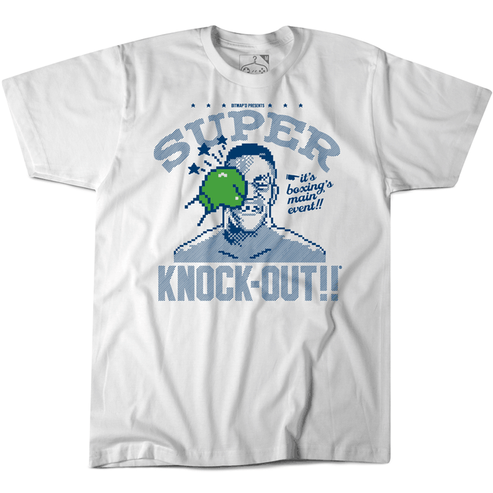 MIKE TYSON PUNCH OUT TSHIRT WHITE