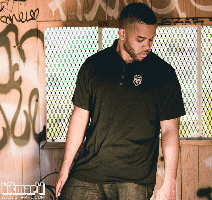 Destiny polo shirt black