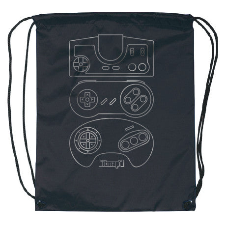 16-BIT CONTROLLER BAG (Free w/ purchase) , bag - Bitmap'd | Video Game Inspired T-shirts