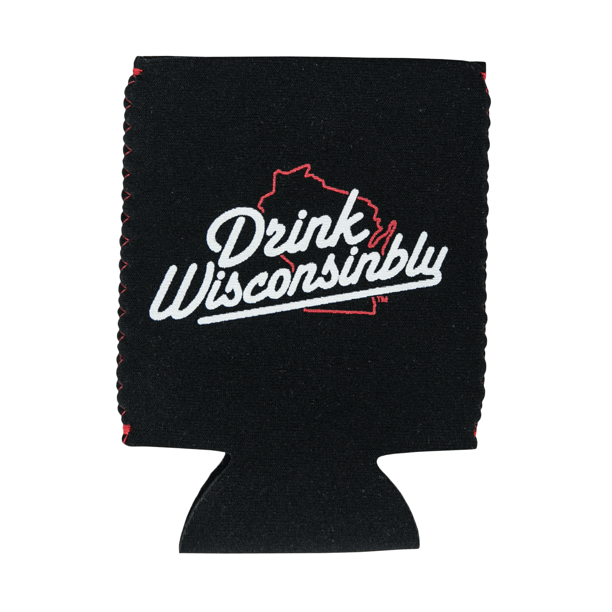 "Drink Wisconsinbly ""I [Heart] Day Drinking"" Coozie"