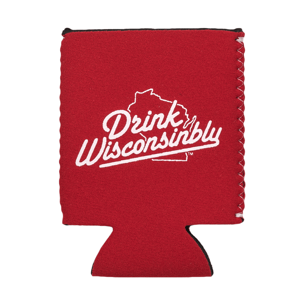 Drink Wisconsinbly Richfield Red Coozie