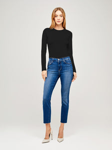 Sada High Rise Crop Slim