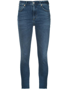 Rocket Ankle Split Hem High Rise Skinny Rush