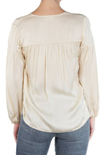 Load image into Gallery viewer, Rochelle Shirred Peasant Top