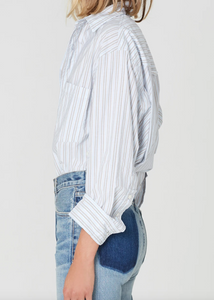 Kayla Shirt-Liberty Stripe