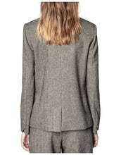 Load image into Gallery viewer, Victor Lurex Blazer Gris