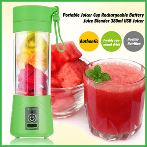 Turbo Swirl Juicer - Portable & Convenient to Charge