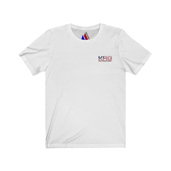 KAG USA Double Logo Short Sleeve Tee