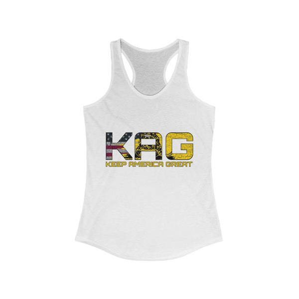 Women's KAG Don't Tread On Me Racerback Tank
