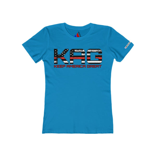 Women's KAG Red Line Boyfriend Tee
