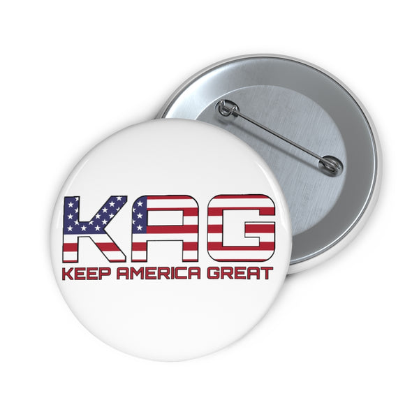 KAG USA Pin Button