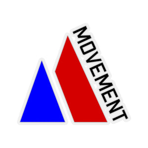 American Movement Sticker