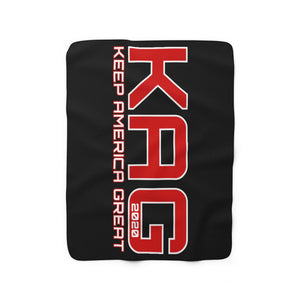 Copy of Alternate KAG Sherpa Fleece Blanket
