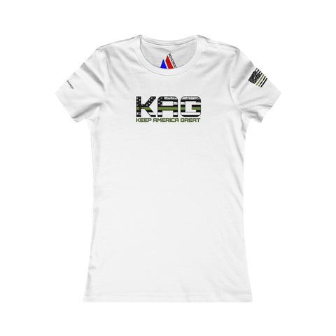 Women's KAG Green Line Tee