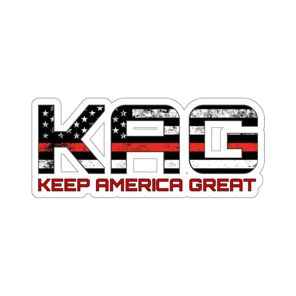 KAG Red Line Sticker